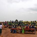 ウガンダ、ルヒーラ村の小学校訪問