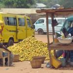 ガーナの街並み
