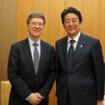 PM Abe and Prof. Sachs