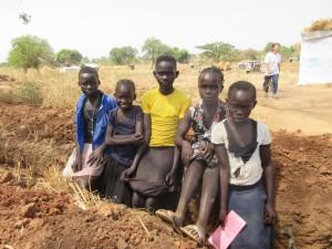 難民居住区で出会った子どもたち