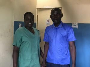 講師の二人。Ciciliaさん(左)、Tybinさん(右) Madisiグループでもオイル製造の担当をして います