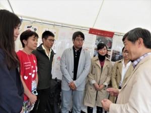 MPJ Youthたちに将来の方針を尋ねる北岡JICA理事長
